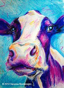 Moo the Cow by Vanessa Montenegro