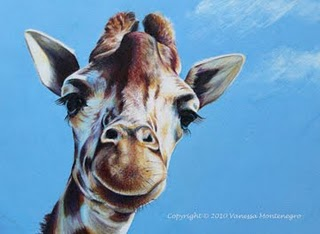 Giraffe Pencil Drawing